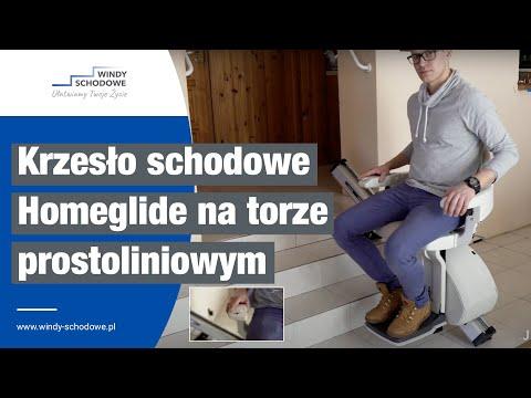 Krzesełko schodowe HomeGlide - Windy Schodowe