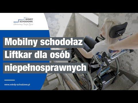 Schodołaz gąsienicowy dla osób niepełnosprawnych | Liftkar PTR