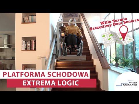 Platforma schodowa dla niepełnosprawnych Extrema Logic | Dom Seniora Willa Surmia