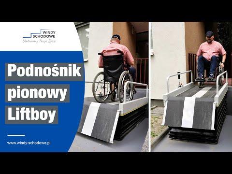 Podnośnik Pionowy LIFTBOY dla osób niepełnosprawnych