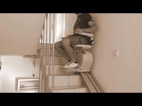 Winda schodowa dla osób starszych - krzesełko schodowe