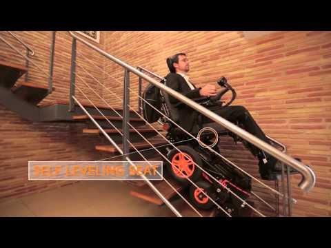 The stair-climbing wheelchair TopChair-S