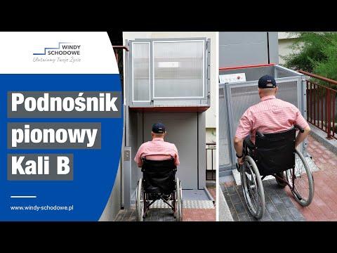 Podnośnik dla niepełnosprawnych w bloku KALI B | Windy Schodowe